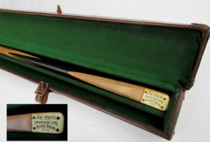 JOE DAVIS 980 RECORD BILLIARD BREAK CUE