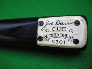 Peradon Joe Davis 2501 Billiards Break Machine Made