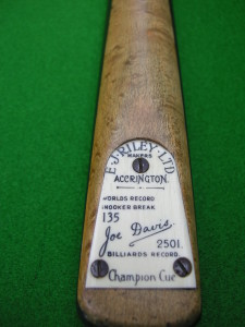 E. J. RILEY 135 BREAK CUE
