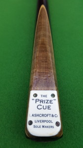 The Ashcroft Prize Cue