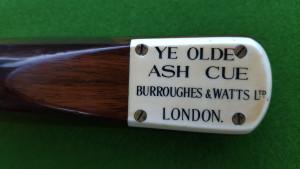 Burroughes & Watts Ye Olde Ash