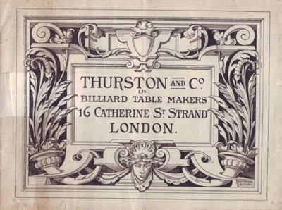 THURSON CATALOGUE 1890